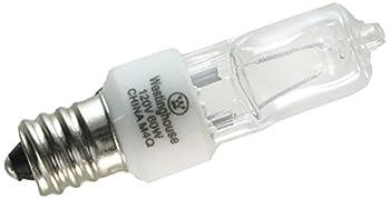 Westinghouse Lighting Clear 0624500 60w T3 Incandescent Single-End Xenon Krypton E12  Candelabra  Base 120v 1 Pack