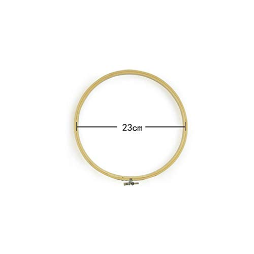 Cross Stitch Kits Funny 1pc Wooden Handy Cross Stitch Machine Embroidery Hoop Ring Bamboo Frame Embroidery Hoop Round Shed Needlecraft Sewing Tools-23-,