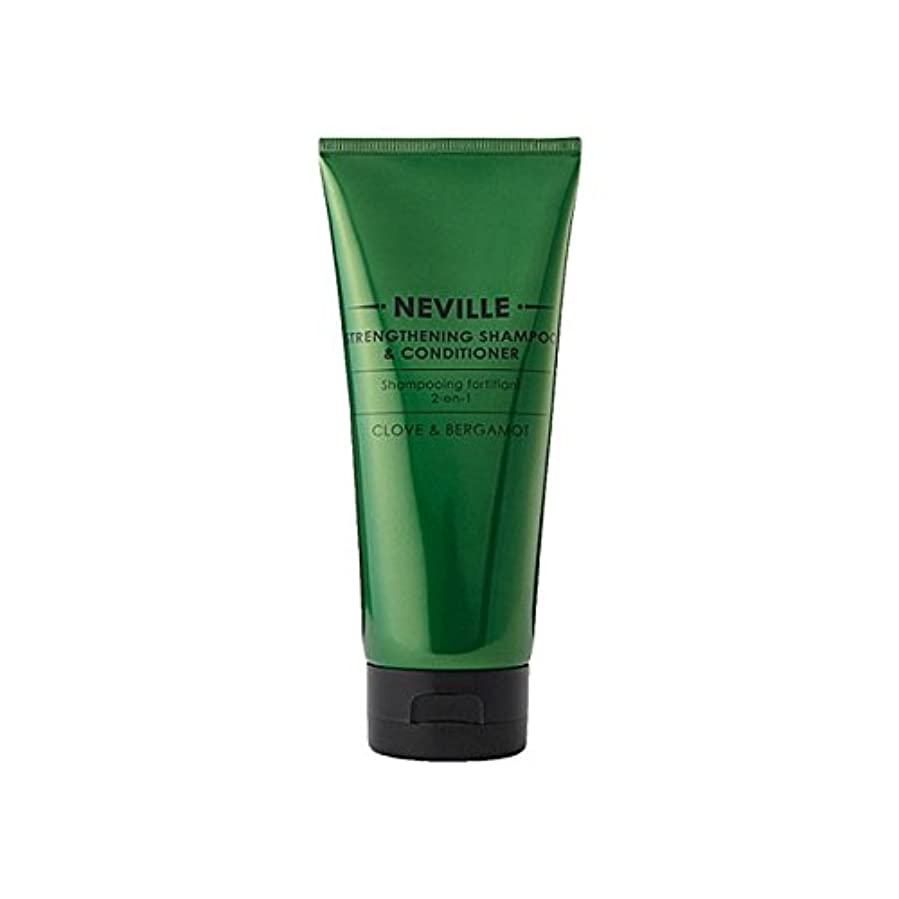 野心的悪化する嬉しいですネビル2--1強化シャンプー及びコンディショナー200 x4 - Neville 2-In-1 Strengthening Shampoo And Conditioner 200ml (Pack of 4) [並行輸入品]
