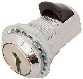 Key Push to Lock Marine / Boat Door Cabinet Slam Action Lock