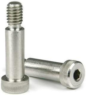 3//4-5//8-11 x 1//2 Coarse Thread Socket Shoulder Screw Stainless Steel 18-8 Pk 10