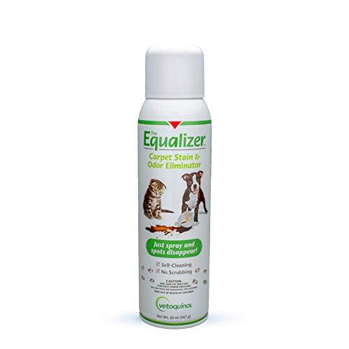 Vetoquinol Equalizer Pet Carpet Cleaner, Stain Remover & Odor Eliminator, Carpet Spot Cleaner, 20oz