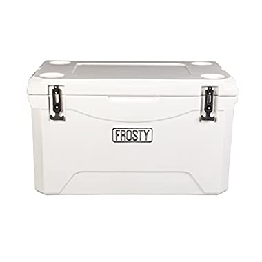 Frosty 45 Roto Molded Coolers - Sizes 25 35 55 65 75 85 120 Ice Chest Rotomolded Extreme Durability Premium Cooler Holds Ice for Days 40 quarts