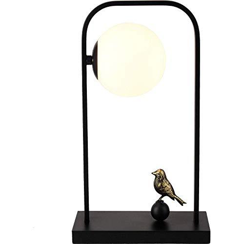 DJY-JY Hotel Zen - Lámpara de escritorio para dormitorio (28 x 15 x 48 cm), diseño romántico