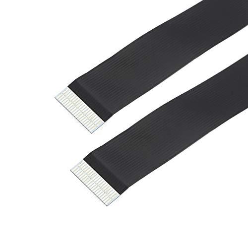 CY CYFPV FPC Flachband Flachkabel 0,5 mm Abstand 20-poliges Kabel für HDMI HDTV FPV Multikopter-Luftbildfotografie 10 cm
