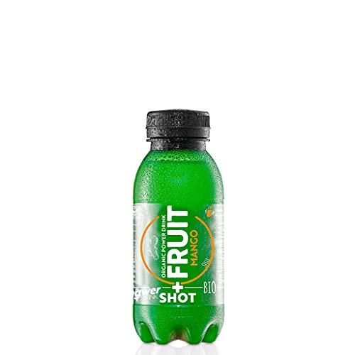12er Pack Kloster Kitchen Bio SHOT+ FRUIT Ingwer-Mango, 12x 250ml in EINWEG PET Flaschen, Frischekick ohne Kohlensäure, mit echten Ingwerstückchen, bio und vegan