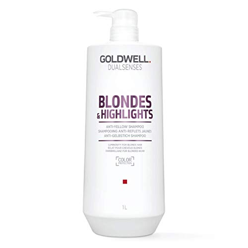 Goldwell Dualsenses Blondes & Highlights Anti Yellow Shampoo, 1er Pack (1 x 1 l)
