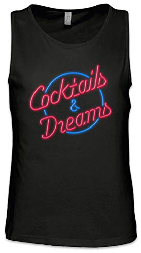 Urban Backwoods Cocktails & Dreams Cocktail Movie Logo Hombre Camiseta Sin Mangas...