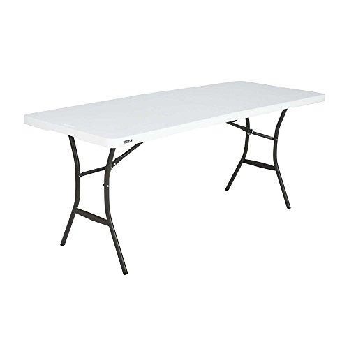 Lifetime plastique, table pliante, table de camping Premium marché aux  puces//Dimensions: 183 x 70 x 74 cm