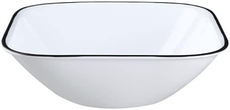 Corelle Square Simple Lines 22-Ounce Bowl Set (6-Piece)
