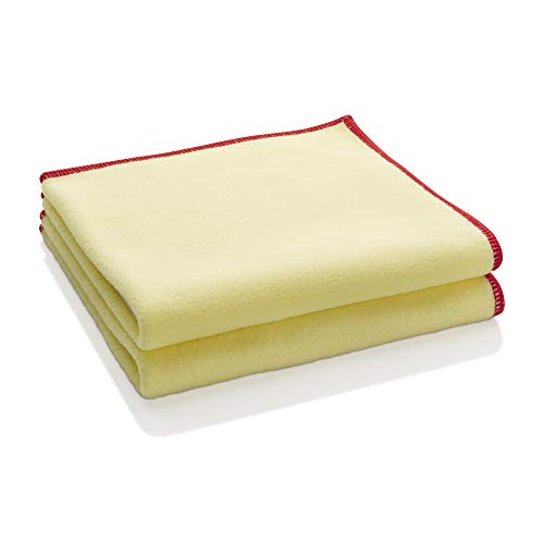 E-Cloth Staubtuch, Polyester, Gelb, 2er Pack