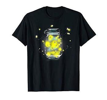Mason Jar Fireflies T-Shirt