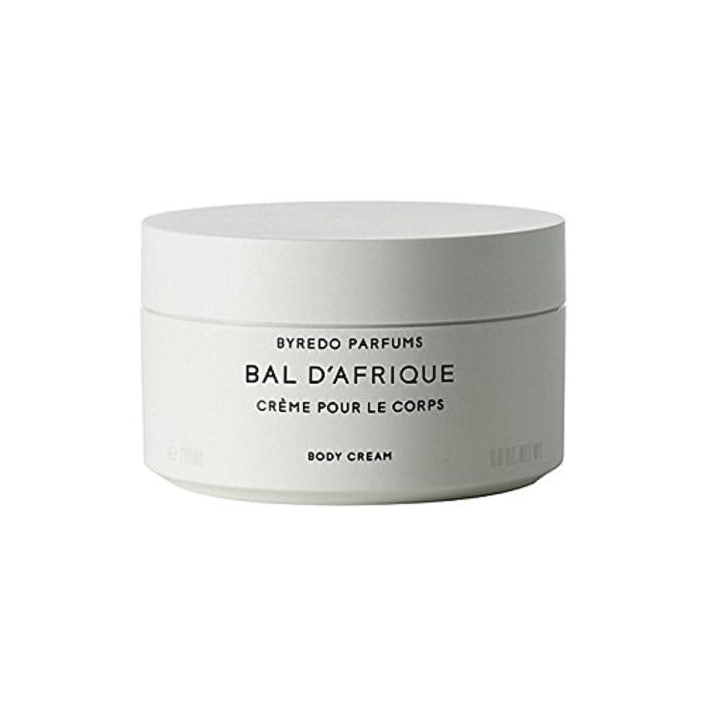 どういたしまして平和な一月Byredo Bal D'Afrique Body Cream 200ml (Pack of 6) - 'のボディクリーム200ミリリットル x6 [並行輸入品]