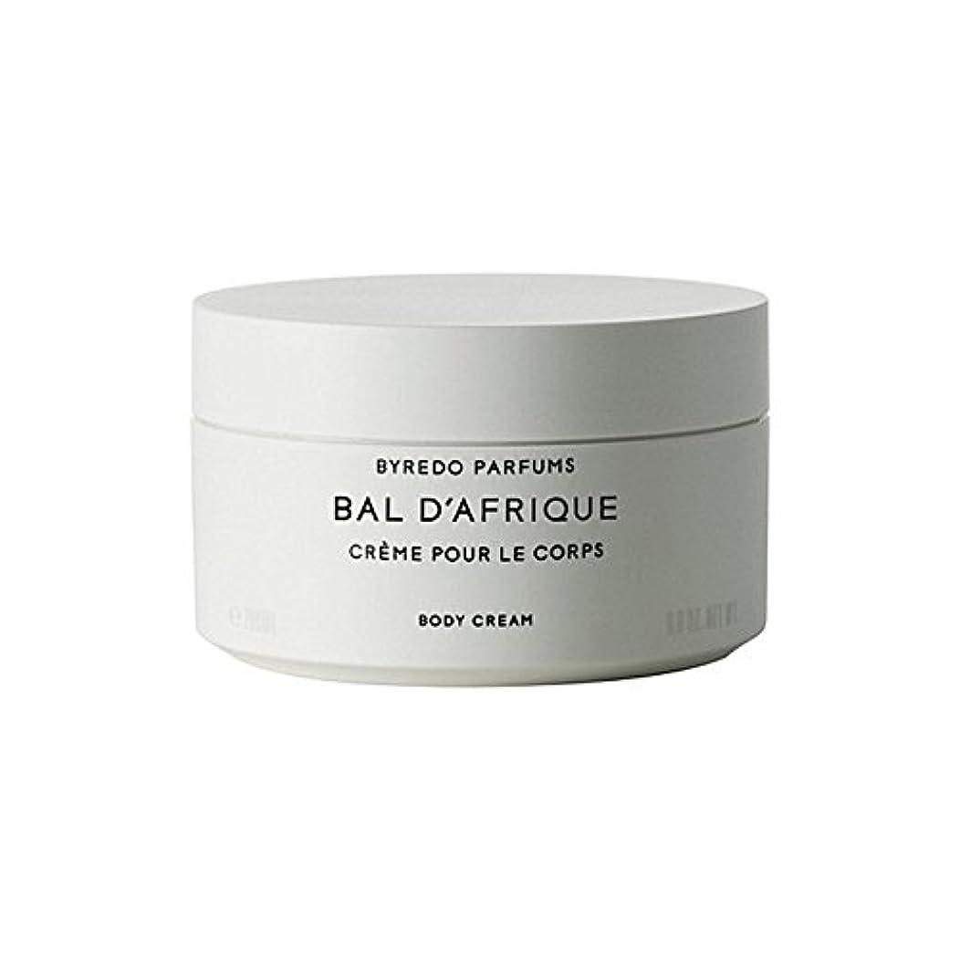 割合お手伝いさん道徳のByredo Bal D'Afrique Body Cream 200ml (Pack of 6) - 'のボディクリーム200ミリリットル x6 [並行輸入品]