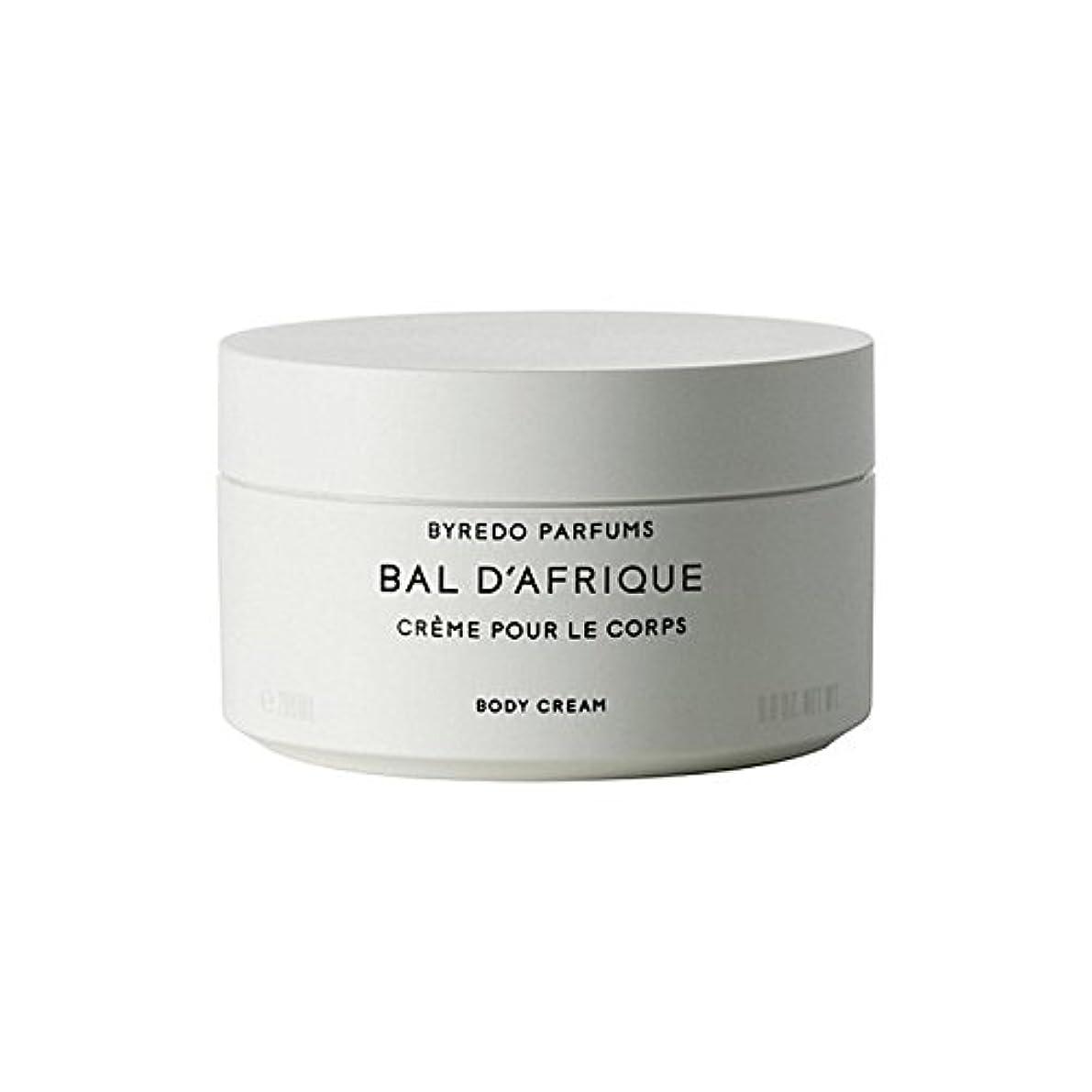 メカニック高速道路読みやすさのボディクリーム200ミリリットル x4 - Byredo Bal D'Afrique Body Cream 200ml (Pack of 4) [並行輸入品]