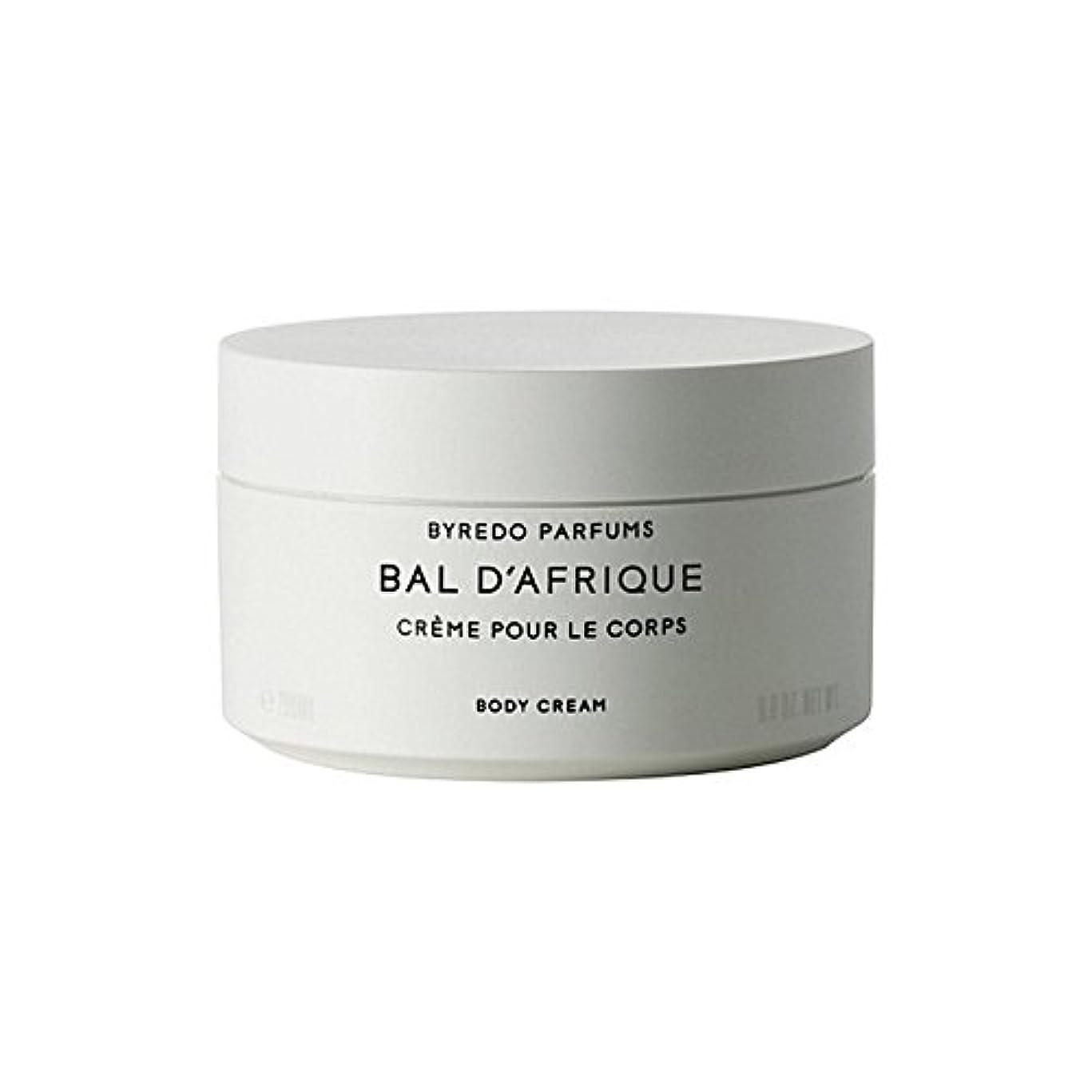 耳硬い腐敗'のボディクリーム200ミリリットル x2 - Byredo Bal D'Afrique Body Cream 200ml (Pack of 2) [並行輸入品]