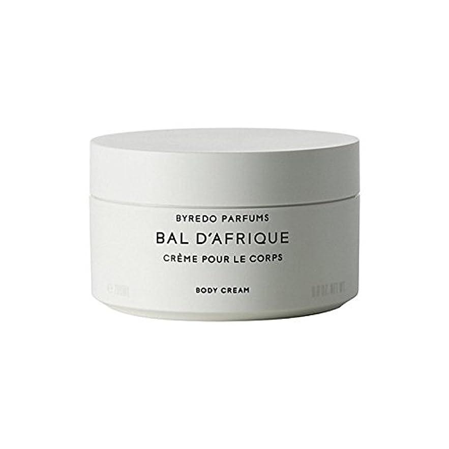 揺れる不純時代'のボディクリーム200ミリリットル x2 - Byredo Bal D'Afrique Body Cream 200ml (Pack of 2) [並行輸入品]