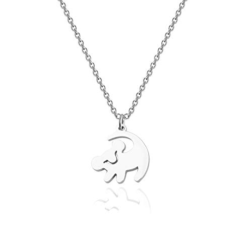 The Lion King Inspire Gift Simba Necklace Lion King Gift Valentine's Jewelry (Lion Necklace)