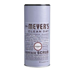 Mrs. Meyers Clean Day Surface Scrub, Lavender, 11oz, 3 Pack