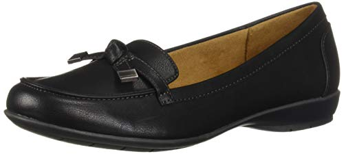 Natural Soul Women's Gracee Loafer, black, 7.5 M US
