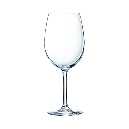 Chef & Sommelier Cabernet Tulip - Copas para vino, Vidrio, Transparente, Juego de 6...