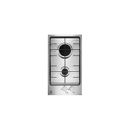 Electrolux - Piano cottura domino a gas PQX 320 V finitura inox da 30cm