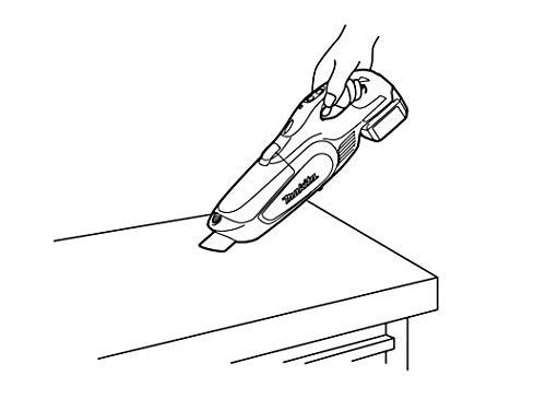 マキタコードレス掃除機CL182紙パック式標準40分稼働/充電22分ハイパワー上位モデル18Vバッテリ充電器付CL182FDRFW