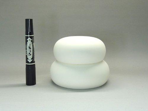 瀬戸陶器製 鏡餅(中小Φ13cm)
