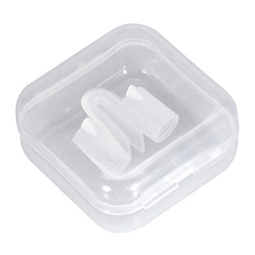 Yowerf ronquidos Clip Anti-ronquidos de Silicona Que Alivia el ronquido tapón Protector Respiración fácil para Dormir Clip de apnea del sueño dilatador Nasal Dispositivo de llenado de Sangre