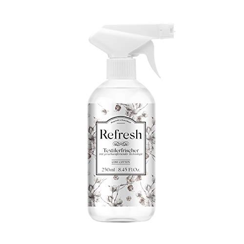Refresh - Desodorante textil con ricinoleato de zinc 250 ml - Elimina los olores de forma natural
