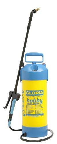Gloria Drukspuit, 5 liter, met telescopische verlengbuis, zwart druksproeier