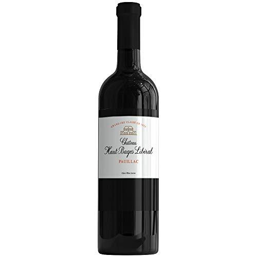 X6 Château Haut-Bages Libéral 2015 75 cl AOC Pauillac Rouge 5ème Cru Classé Vino Tinto