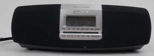 Sony Dream Machine ICF-CD821 CD AM/FM Radio Alarm Clock