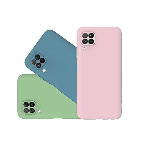 [3 Stücke] Hülle Kompatibel für XiaoMi Redmi Note 9S/9 Pro,Ultra Dünn Handyhülle Case Flexibel Kratzfest Schutz TPU Bumper Schutzhülle für XiaoMi Redmi Note 9S/9 Pro [3 Farben]