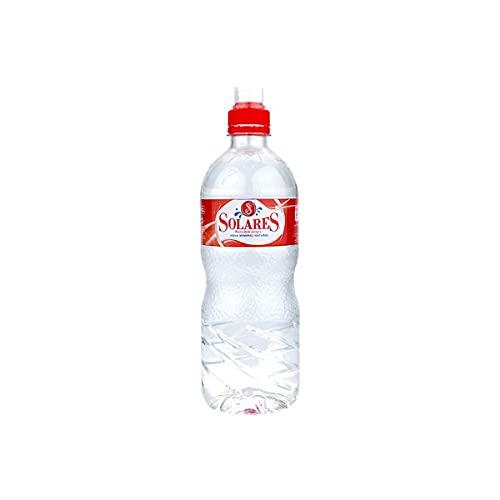 Agua Mineral Natural Solares sport Botella chupete 75 cl