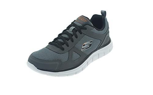 Skechers 52631-ccbk_46, Calzado Deportivo Hombre, Gris, EU