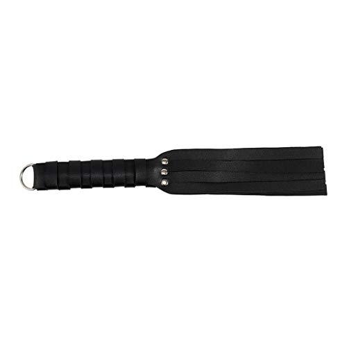 Fugift BDS-M Restraint Fetish PU Leather Whip Ṡěx Tǒys for Women Ǎd-ult S-M Games Costumes Accessories Sѐxspíѐlzeüg