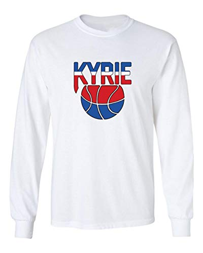 Shedd Shirts Long Sleeve White Brooklyn Irving New Jersey Logo T-Shirt Youth