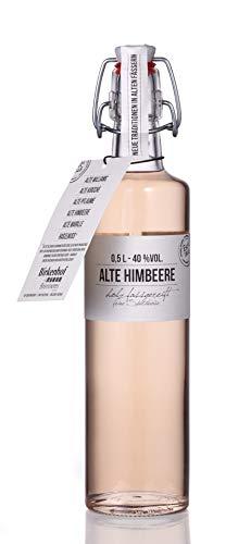 BIRKENHOF Brennerei | Alte Himbeere - feine holzfassgereifte Spirituose | (1 x 0,5l ) - 40 % vol.