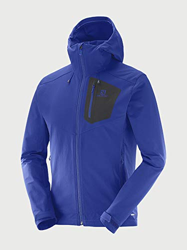 SALOMON Ranger Softshell JKT M Jacke, Herren S Surf The Web