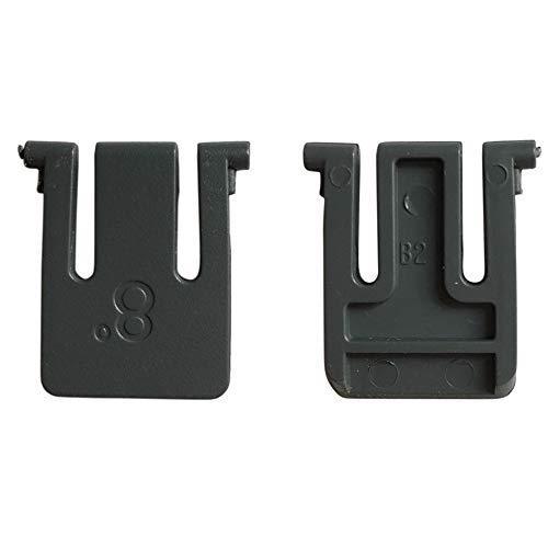 BODYART 2 piezas de repuesto de patas de teclado soportes patas diapasones inclinación para teclado inalámbrico Logitech K260 K270 K270r MK260 MK270 MK270r MK275 MK200
