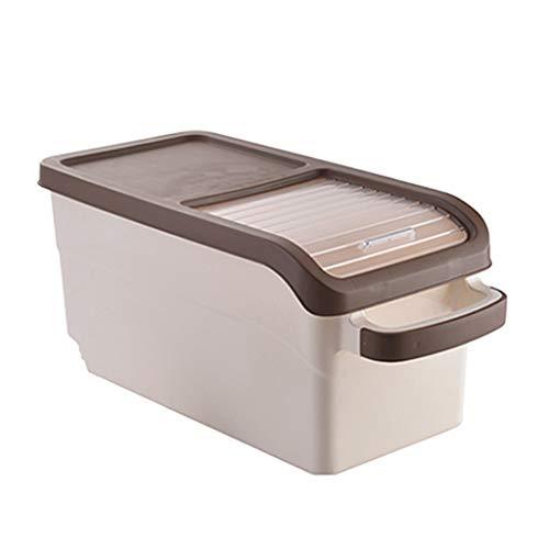 Vorratsdosen Reis Zylinder Sealed Pest Control Reis Box Haushalt Mehl Aufbewahrungsbox Küchenbedarf Bohnen Lebensmittelbehälter Spielzeug Aufbewahrungsbox Rack Vorratsbehälter