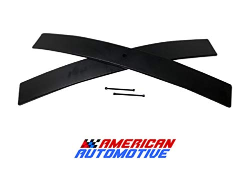 "2"" Rear Add-A-Leaf for Chevrolet S-10 2WD 4WD and Blazer S-10 4WD Carbon Suspension Leveling Lift Kit (Short)"