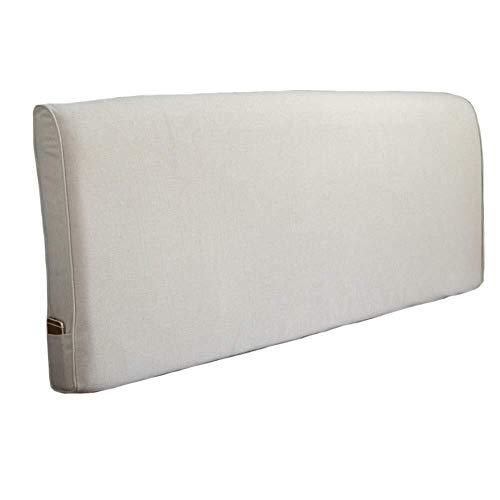 B-fengliu Kopfbrett Kissen Kissen Rückenlehne Bett-Kopfstütze, abnehmbar und waschbar (Color : No Headboard-#1, Size : 120cm*60cm*10cm)