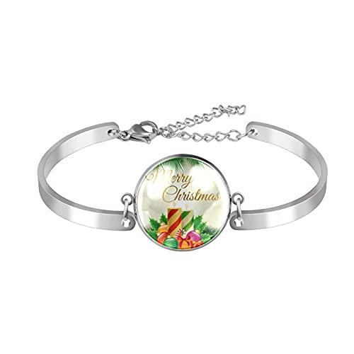 Bangle Armbanden Verstelbare Link Armband Merry Christmas