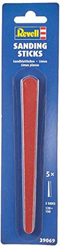 Revell 39069 14 Modellbau Sandfeilen, 2-seitig, 5 Stück