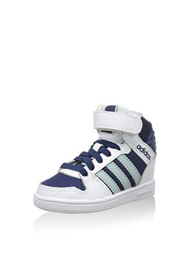 adidas Sneaker Alta PRO Play 2 CF I Bianco/Blu Navy EU 20 (UK 4 C)