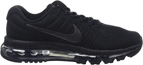 Nike Air Max 2017 GS 851622-004, Sneakers Basses Mixte, Noir (001), 36 EU