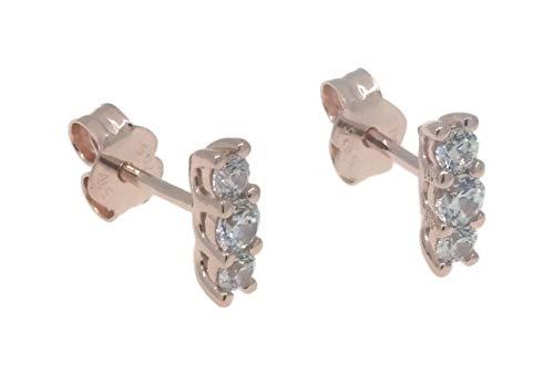 Pandora Pendientes de botón Mujer vermeil - 280725CZ