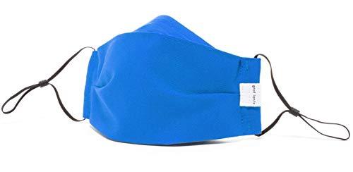 Graf Lantz Zenbu Organic Cotton Face Mask - Regular Over Ear with Adjusters - Reusable & Machine...